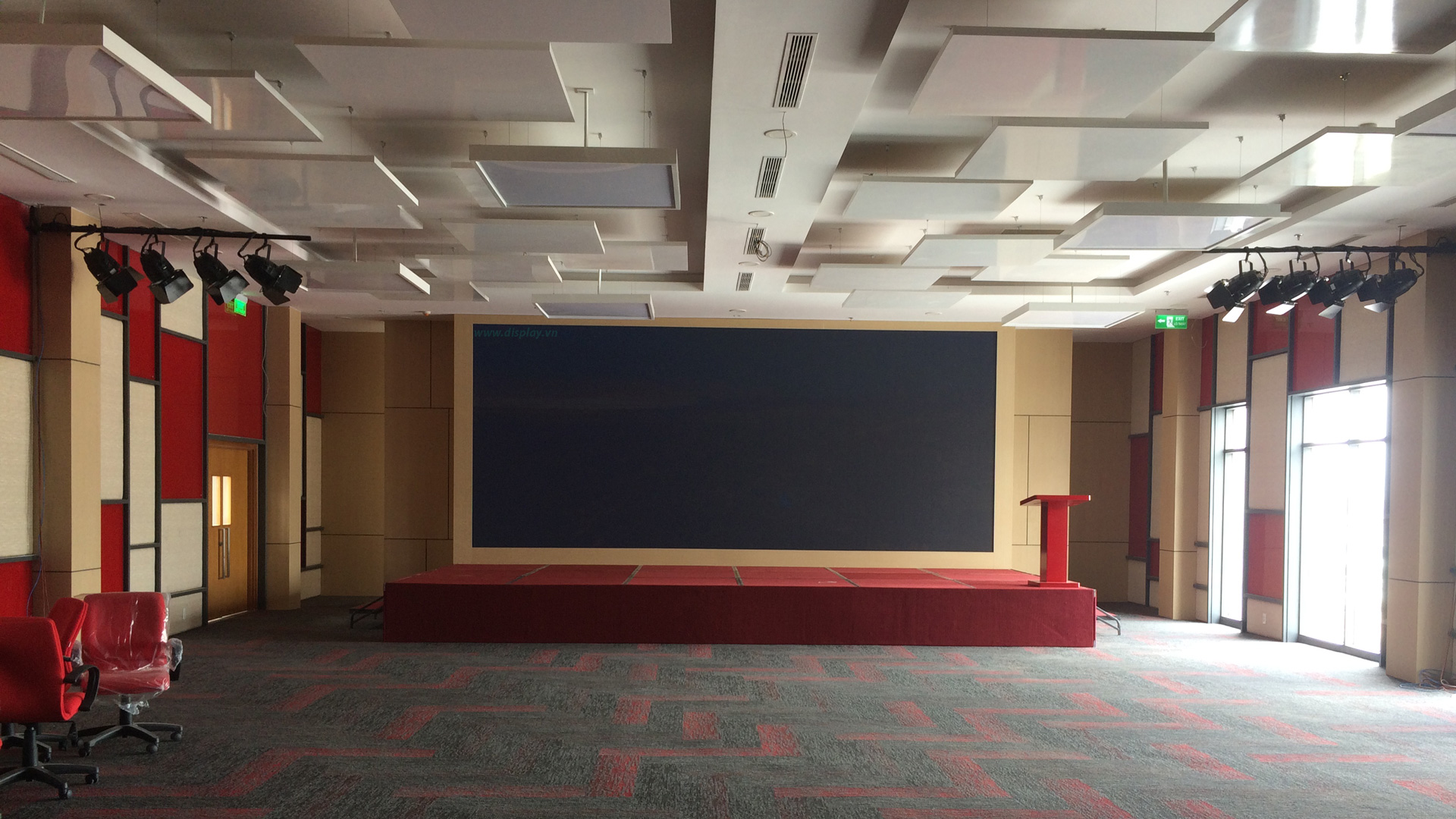 màn hình led sân khấu