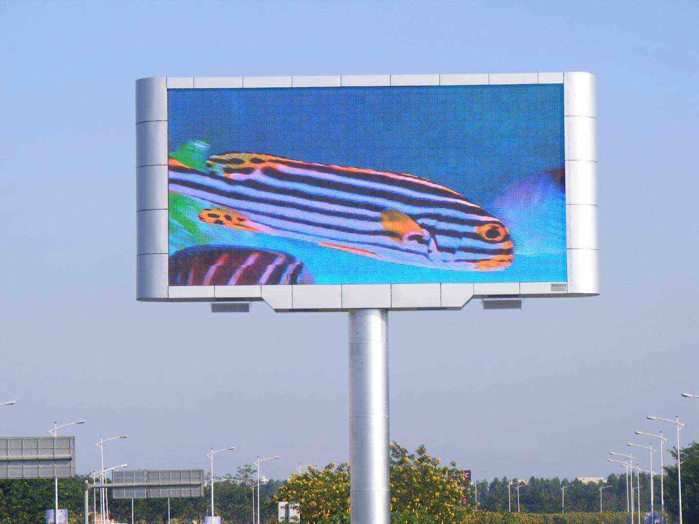 màn hình led p10 ngoài trơi