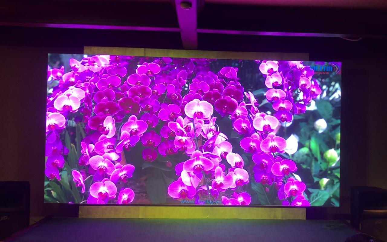màn hình led  nhà hàng