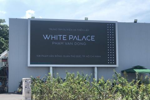 MÀN HÌNH LED P5 OUTDOOR WHITE PALACE PHẠM VĂN ĐỒNG